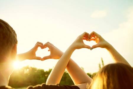 Gute Nachrichten für Sie, wenn Sie von der großen Liebe träumen...